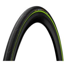 Continental gumiabroncs kerékpárhoz 25-622 Ultra Sport3 700x25C fekete/zöld, Skin hajtogathatós