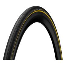 Continental gumiabroncs kerékpárhoz 25-622 Ultra Sport3 700x25C fekete/sárga, Skin hajtogathatós