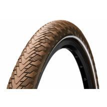 Continental gumiabroncs kerékpárhoz 55-622 Contact Cruiser 28x2,2 barna/barna, reflektoros