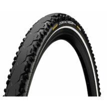 Continental Gumiabroncs Kerékpárhoz 37-622 Contact Travel 700x37c Fekete/Fekete, Skin Reflektoros
