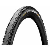 Continental gumiabroncs kerékpárhoz 37-622 Contact Travel 700x37C fekete/fekete, Skin hajtogathatós