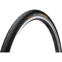 Continental Gumiabroncs Kerékpárhoz 37-622 Rideplus 28x1 3/8x1 5/8 Fekete/Fekete, Reflektoros