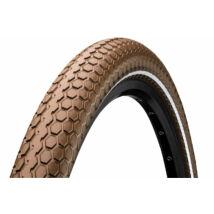 Continental gumiabroncs kerékpárhoz 55-622 RIDE Cruiser 28x2,2 barna/barna, reflektoros