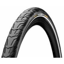 Continental gumiabroncs kerékpárhoz 37-622 Ride City 700x37C fekete/fekete, reflektoros