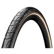 Continental gumiabroncs kerékpárhoz 37-622 Ride City 700x37C fekete/barna, reflektoros