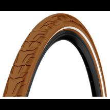 Continental gumiabroncs kerékpárhoz 47-622 Ride City 28x1,75 barna/barna, reflektoros