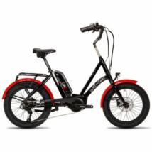Corratec Life S AP5 RD 8 fekete-piros 2021 E-bike