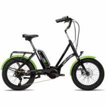 Corratec Life S AP5 RD 8 fekete-zöld 2021 E-bike