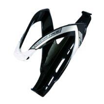 Elite Kulacstartó Custom Race Fekete Fényes/Fehér Logo