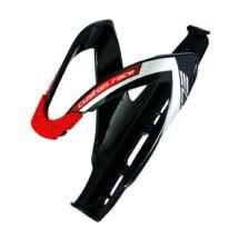 Elite Kulacstartó Custom Race Fekete Fényes/Piros Logo