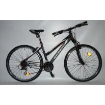 Ferrini Faster Lady 28'' 24s. Matt Fekete női Trekking Kerékpár