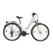"""Gepida ALBOIN 200 28"""" 2020 női Trekking Kerékpár fehér/grafit-piros"""