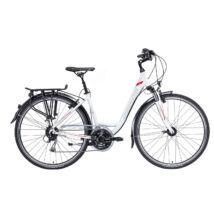 """Gepida ALBOIN 300 28"""" W 2020 női Trekking Kerékpár gyöngyház fehér"""