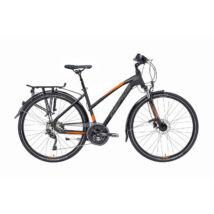 """Gepida ALBOIN 500 28"""" 2020 női Trekking Kerékpár Fekete Neon színben!!"""