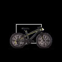 """Ghost KATO KID 1 20"""" 2017 Gyerek Kerékpár"""
