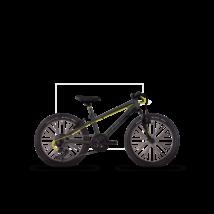 """Ghost KATO KID 2 20"""" 2017 Gyerek Kerékpár"""