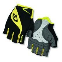Giro Bravo kerékpáros kesztyû, rövid - fekete/sárga