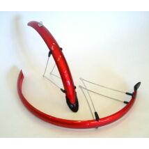 "Hauser Sárvédő 24"" Plastic Orion 53mm Piros"