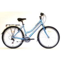 """Hauser Galaxy 26"""" noi CITY világoskék női City Kerékpár"""