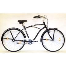 """Hauser 26"""" Cruiser ffi 3seb acél 18"""" fekete férfi Cruiser kerékpár"""