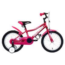 """Hauser Bmx16"""" Puma Sötét Rózsaszín Gyerek Kerékpár"""