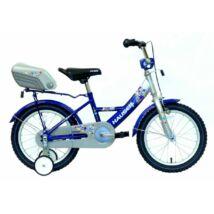 """Hauser BMX16"""" Swan ezüst/kék hátsó tároló dobozzal Gyerek Kerékpár"""