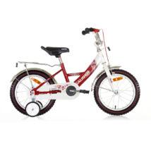 """Hauser BMX16"""" Swan fehér/piros Gyerek Kerékpár"""
