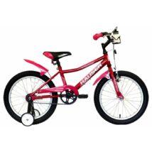 """Hauser Bmx18"""" Puma Sötét Rózsaszín Gyerek Kerékpár"""