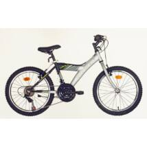 "Hauser 20"" Cobra 18seb mattszürke-fekete dobozos Gyerek Kerékpár"