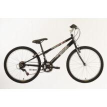 "Hauser Wolf 24"" 18seb ffi fekete Gyerek Kerékpár"