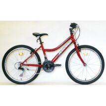 """Hauser Wolf 24"""" 18seb noi piros Gyerek Kerékpár"""