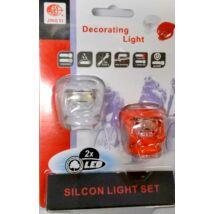 Hauser Lámpa E+H Villogó Jy-267-2 Szilikonos