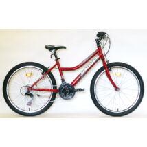 """Hauser 24"""" Wolf 18seb női bordó  City Kerékpár"""