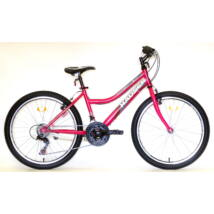 "Hauser 24"" Wolf 18seb női sötétrózsaszín Mountain Bike"