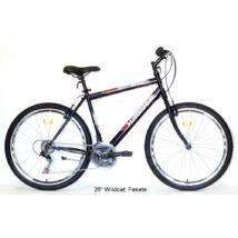 "Hauser 26"" Wildcat ffi 18seb. Df 20"" fekete férfi Mountain Bike"