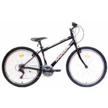 "Hauser Galaxy 26"" ffi 16"" fekete férfi Mountain Bike"