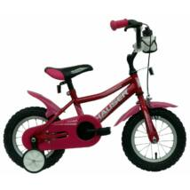 """Hauser Bmx12"""" Puma Sötét Rózsaszín Gyerek Kerékpár"""