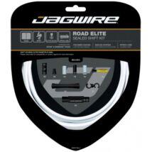 Jagwire Road Elite váltóbowden készlet, fehér