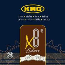 KMC Lánc X8 SILVER