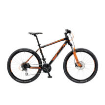 KTM CHICAGO 27.24 DISC H 2019 férfi Mountian Bike black matt (orange)