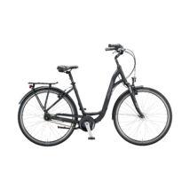 KTM CITY LINE 28 2020 női City Kerékpár black matt (grey+silver)