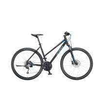 KTM LIFE ROAD 2020 női Cross Kerékpár black matt (grey+blue)