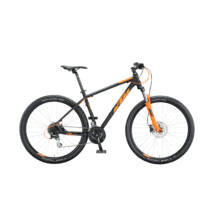 KTM CHICAGO DISC 29 2020 férfi Mountain Bike black matt (orange)