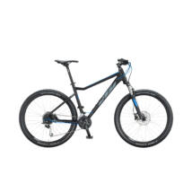 KTM ULTRA FUN 27 2020 férfi Mountain Bike black matt (grey+blue)