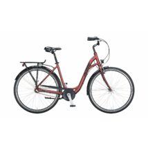 KTM City Line 28 2021 női City Kerékpár bordeaux matt (black+grey)
