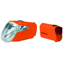 KTM Lámpa p.b.Trelock Light Set LS 360 I-GO 15 LUX, rear light LS 720 orange