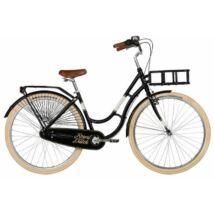Kellys Royal Dutch Black 2017 női City kerékpár