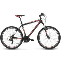 Kross Hexagon 1.0 2018 férfi Mountain Bike black-red-white matte
