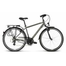 Kross Trans 2.0 2018 férfi Trekking Kerékpár graphite-grey-silver glossy
