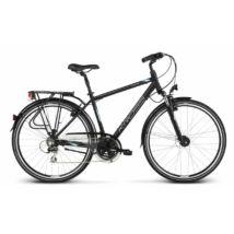 Kross Trans 4.0 2018 férfi Trekking Kerékpár black-blue-silver matte